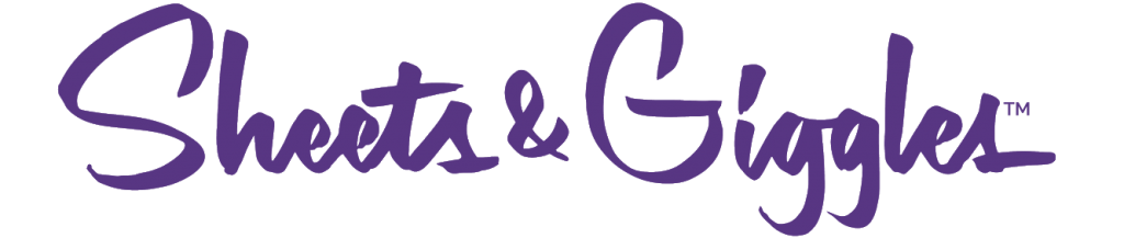 Sheets Giggles Horizontal Purple Logo TM