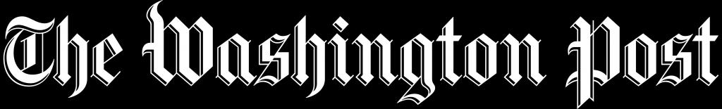The Washington Post logo black