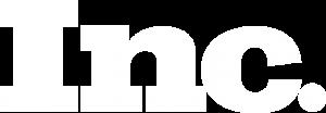 inc logo white