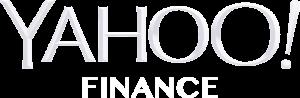 yahoo finance white logo